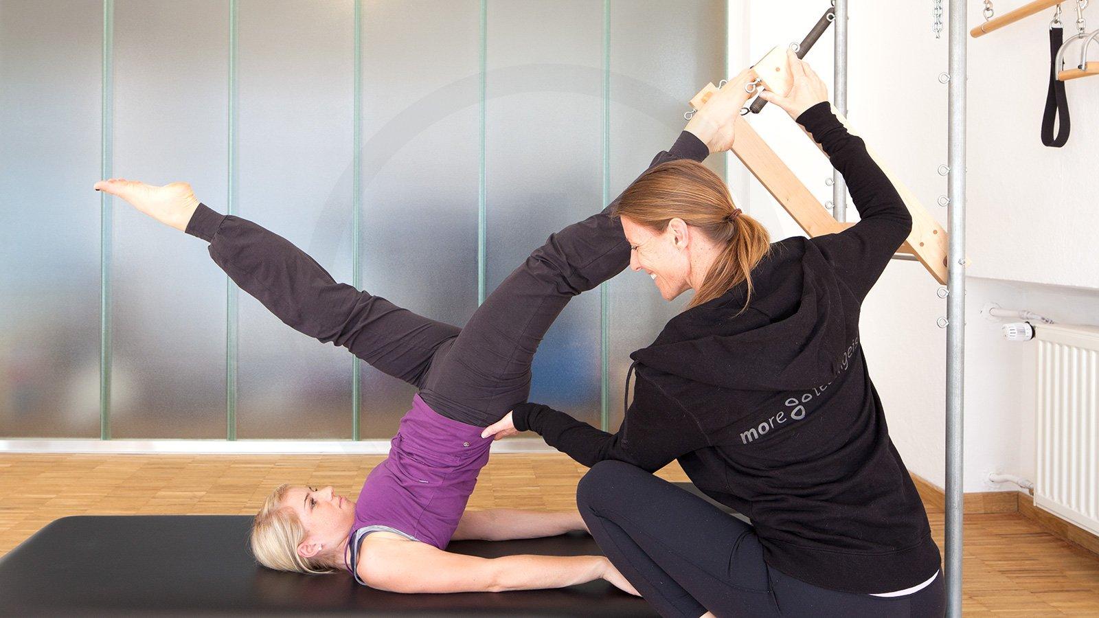 Pilates Ausbildungskonzept komplettiert
