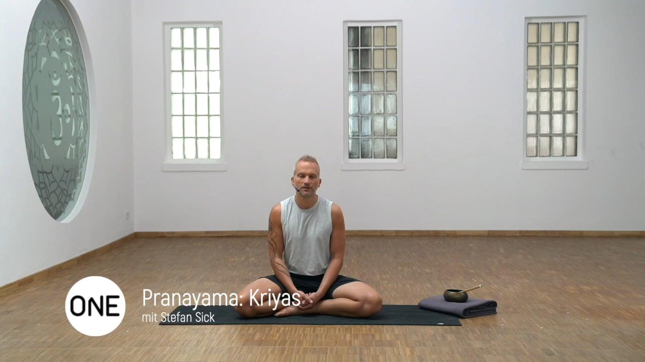 Pranayama: Kriyas